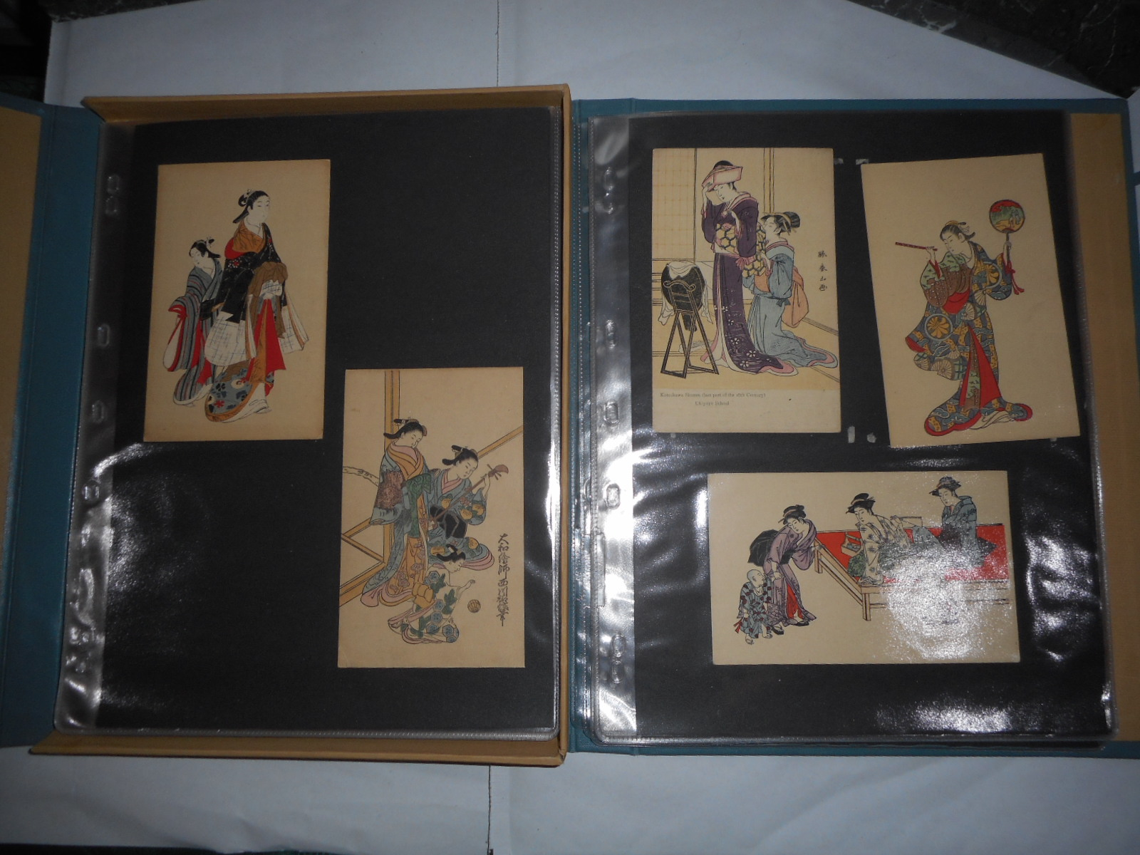 Image for 45 Shimbi Shoin Published Coloured Japanese Woodblock Postcards Housed In A Special 'Japanese Style' Case-book