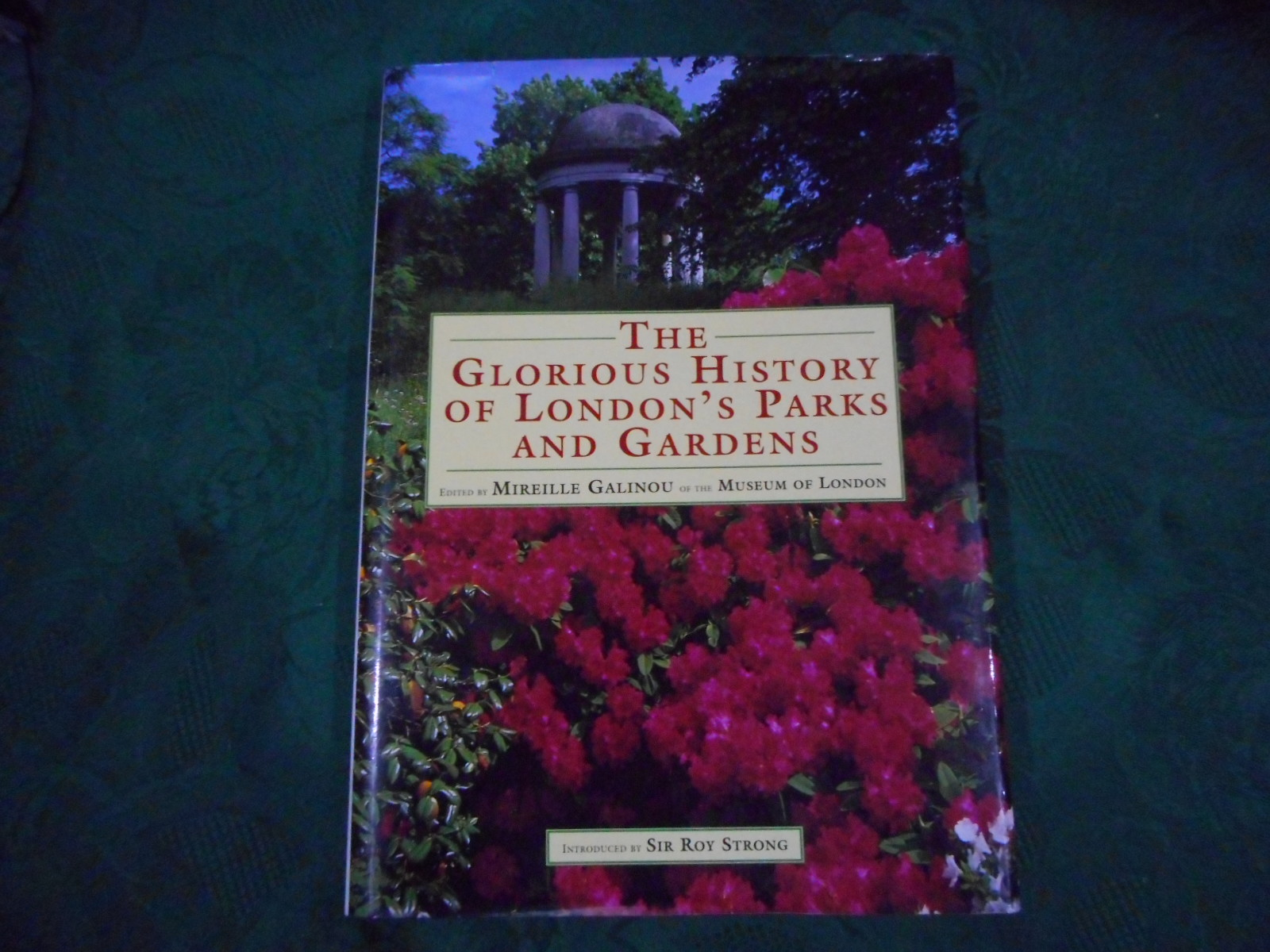 Image for London's Pride: The Glorious History of The Capital's Gardens The Glorious History of London's Parks and Gardens