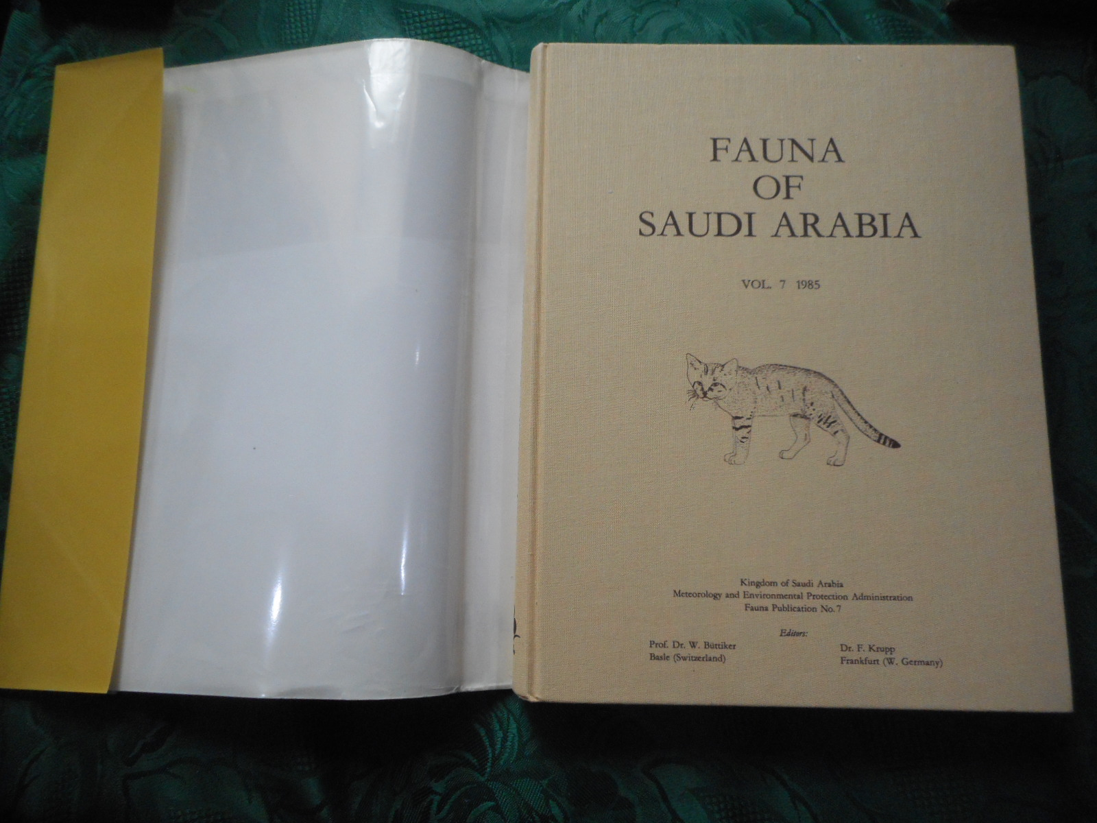Image for Fauna of Saudi Arabia Vol. 7 1985
